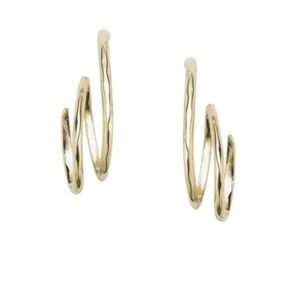 Chloe and Isabel Toujours Spiral Drop Earrings